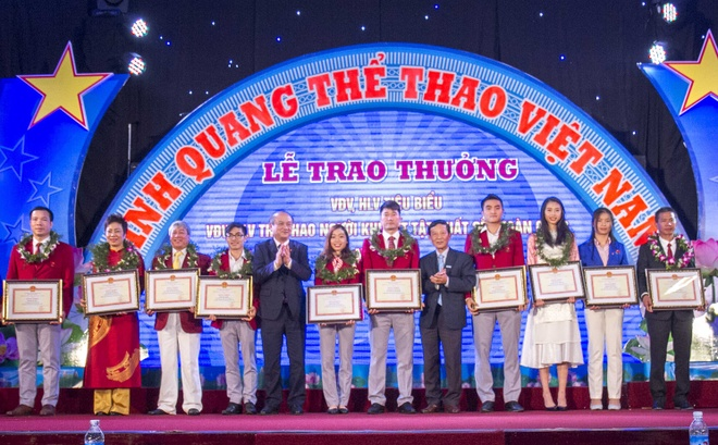 Hoang Xuan Vinh duoc ton vinh trong ngay the thao Viet Nam hinh anh