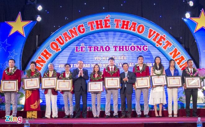 Hoang Xuan Vinh duoc ton vinh trong ngay the thao Viet Nam hinh anh 1
