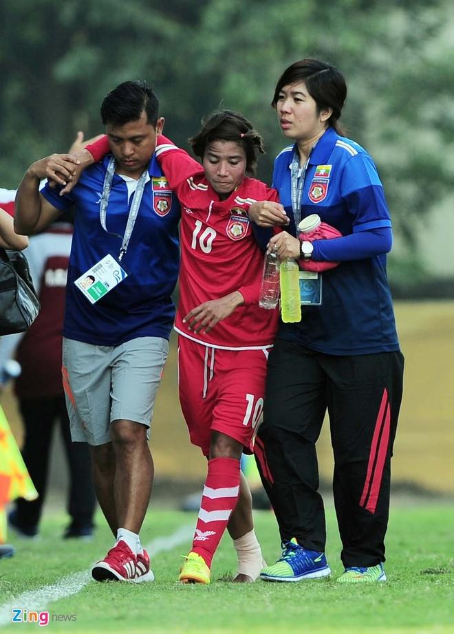 HLV Mai Duc Chung: Nu Viet Nam van de danh quan gap Myanmar hinh anh 2