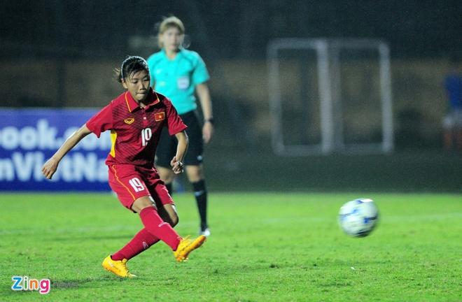 Thang Singapore 8-0, nu Viet Nam co them mot buoi tap tan cong hinh anh 1