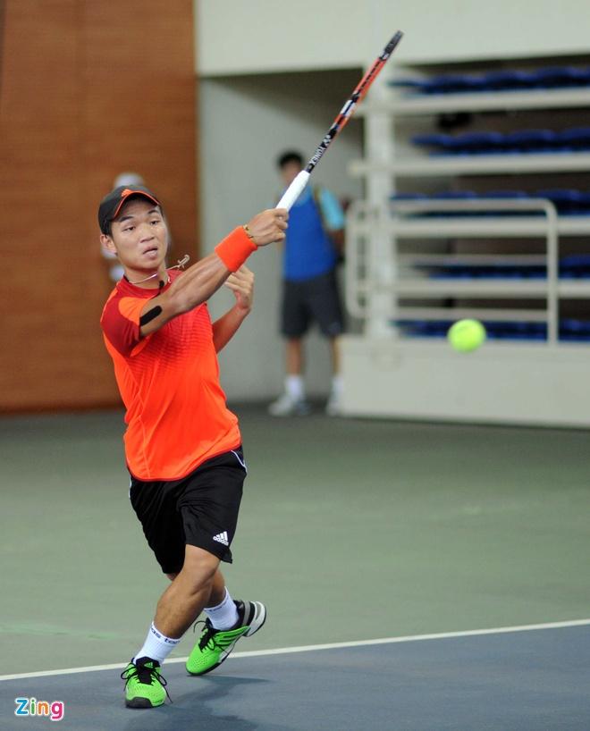 tennis Viet Nam thua tham anh 1