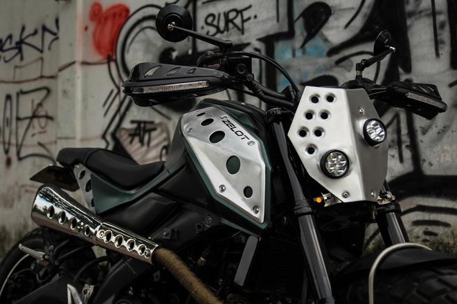 Yamaha TFX 150 do scrambler doc dao tai Sai Gon hinh anh 3