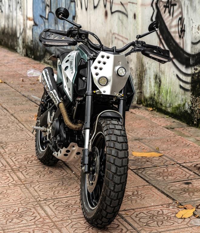 Yamaha TFX 150 do scrambler doc dao tai Sai Gon hinh anh 2