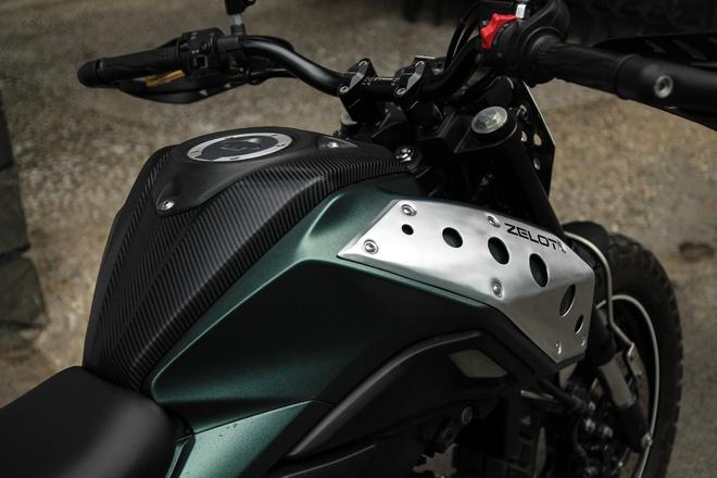 Yamaha TFX 150 do scrambler doc dao tai Sai Gon hinh anh 4