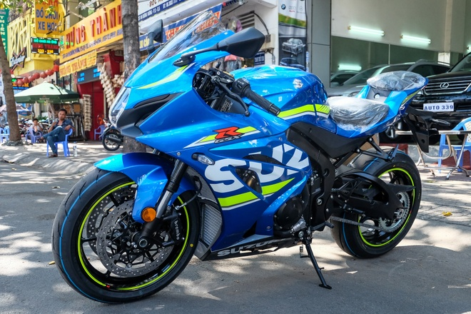 Suzuki GSX-R1000 2017 dau tien tai Viet Nam hinh anh 1