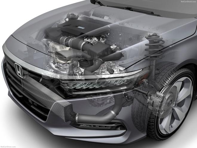 Honda Accord 2018 quyet dau Toyota Camry moi hinh anh 4
