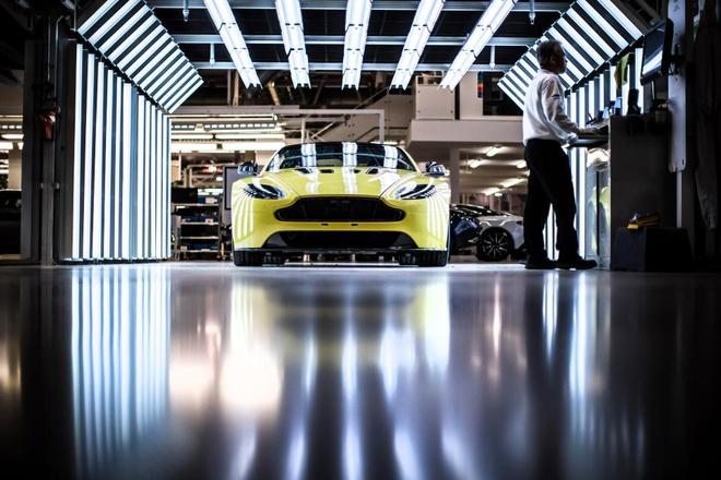 Ben trong bo phan ca nhan hoa cua Aston Martin hinh anh 2