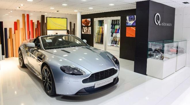 Ben trong bo phan ca nhan hoa cua Aston Martin hinh anh 3