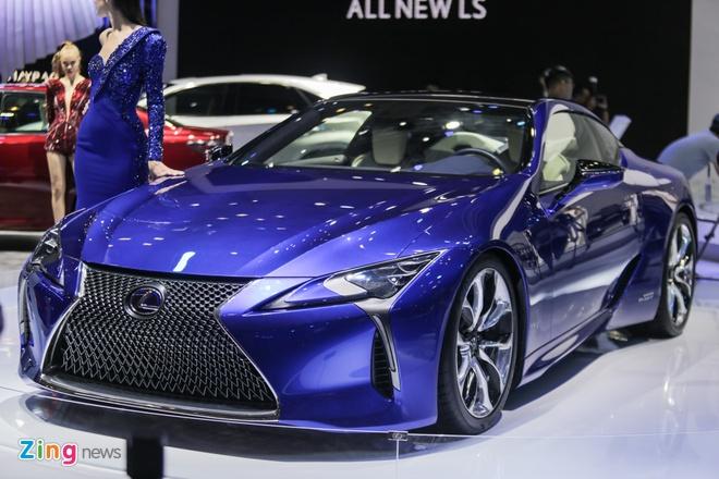 Lexus LC 500h: Coupe hang sang cho dai gia Viet hinh anh