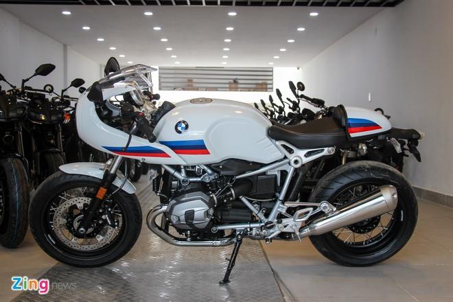 BMW R nineT Racer dau tien ve Viet Nam hinh anh