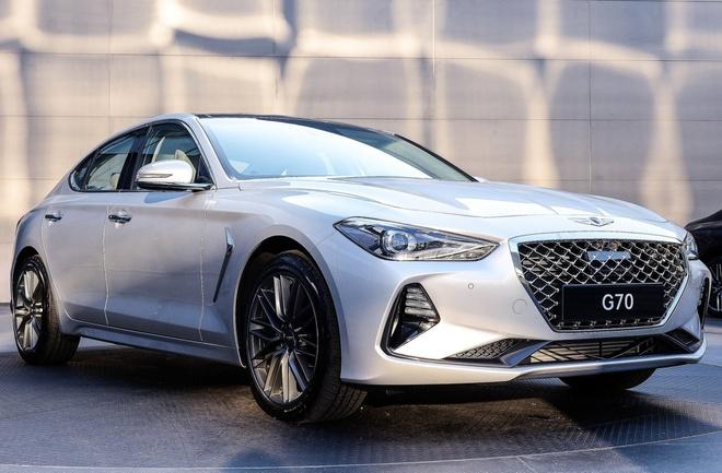 Genesis G70 gia tu 33.000 USD, doi dau BMW 3-Series hinh anh 3