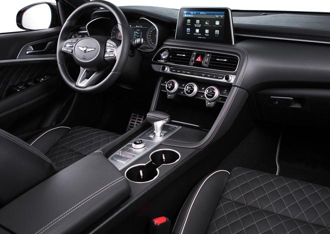 Genesis G70 gia tu 33.000 USD, doi dau BMW 3-Series hinh anh 2