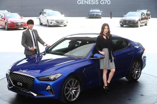 Genesis G70 gia tu 33.000 USD, doi dau BMW 3-Series hinh anh 1