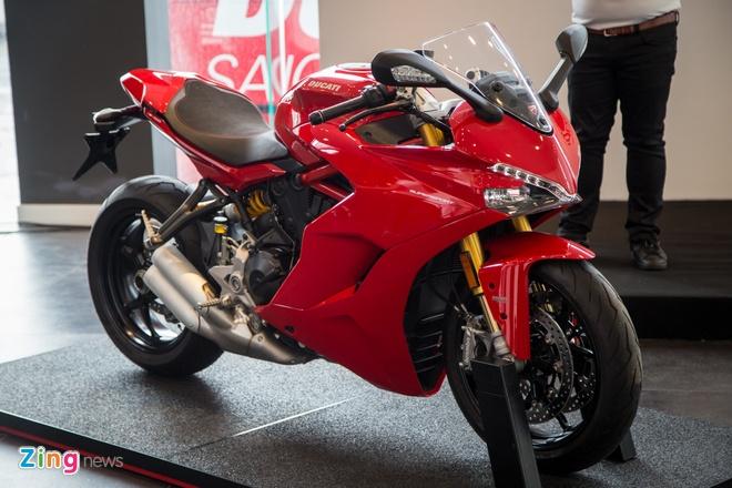Ducati SuperSport ve Viet Nam, gia tu 514 trieu dong hinh anh