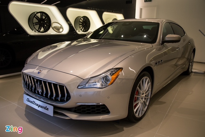 Maserati Quattroporte GranLusso gia hon 8 ty tai Viet Nam hinh anh