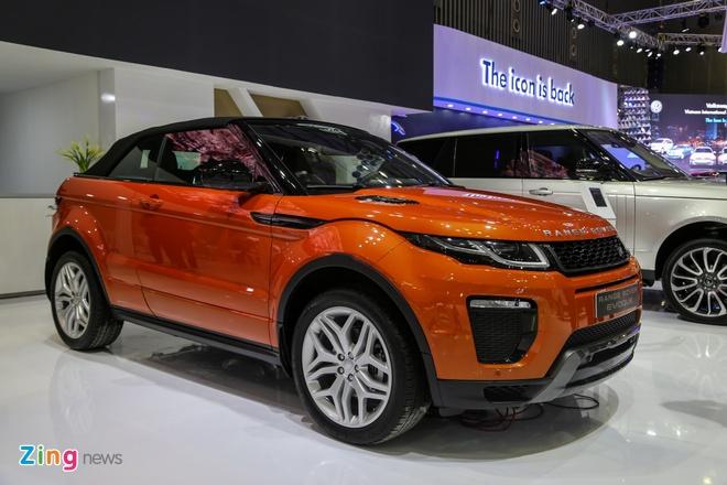 Range Rover Evoque mui tran gia tu 3,5 ty dong tai Viet Nam hinh anh