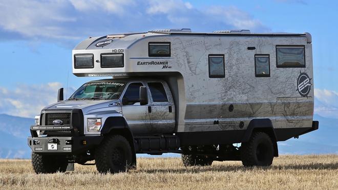 EarthRoamer XV-HD - xe vien chinh gia 1,5 trieu USD hinh anh 1