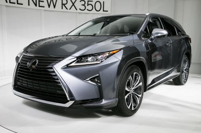 Lexus RX L 2018 ra mat, bo sung hang ghe thu 3 hinh anh