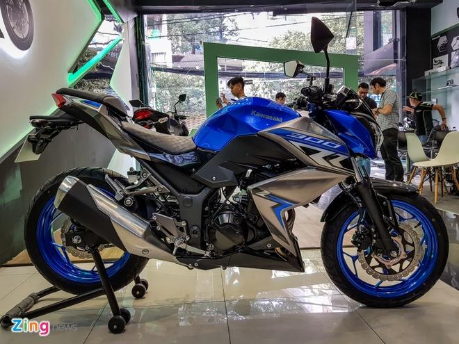 Kawasaki Z300 gia tu 129 trieu dong tai Viet Nam hinh anh