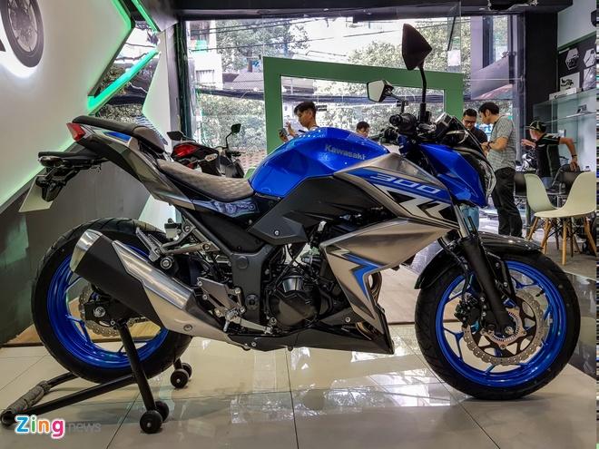 Kawasaki Z300 2018 gia tu 129 trieu dong tai Viet Nam hinh anh