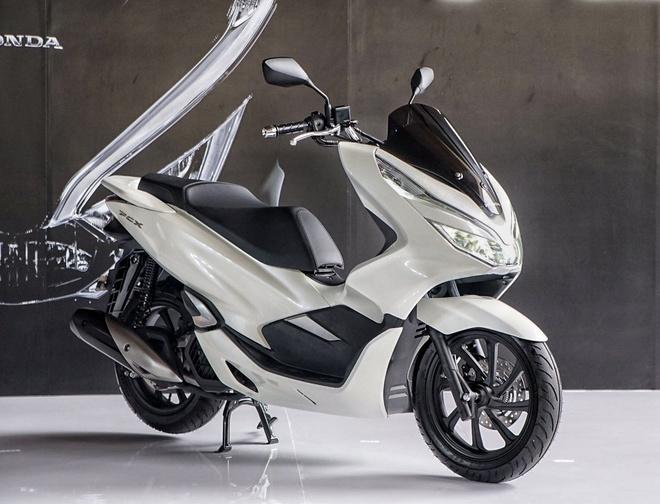 Honda PCX 2018 trinh lang: Them ABS, chia khoa thong minh hinh anh