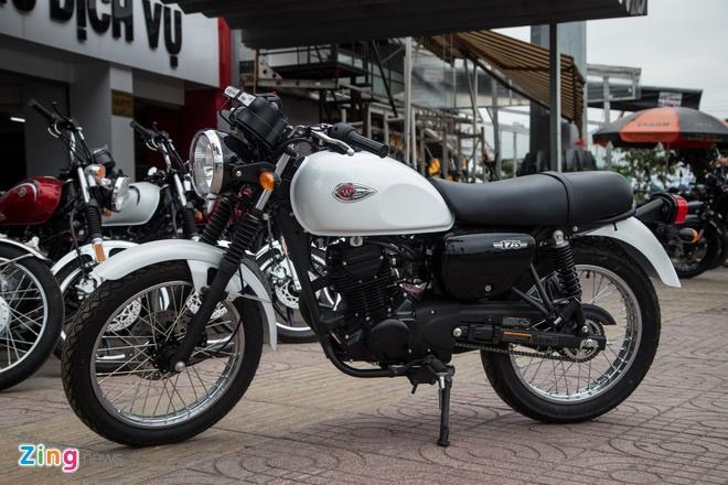 Moto co dien Kawasaki W175 dau tien ve Viet Nam hinh anh 1