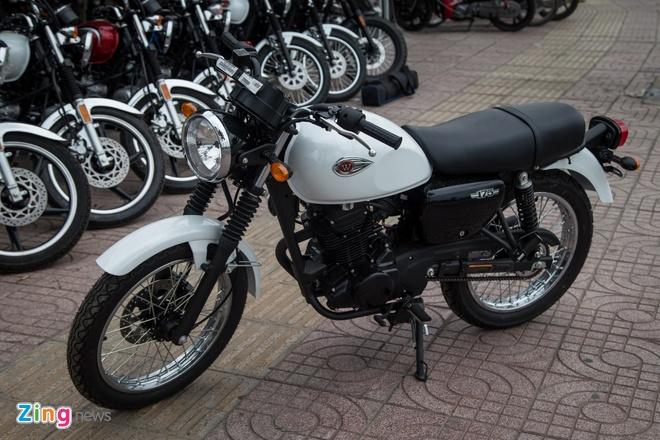 Moto co dien Kawasaki W175 dau tien ve Viet Nam hinh anh 5