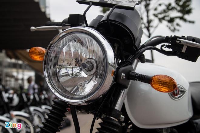 Moto co dien Kawasaki W175 dau tien ve Viet Nam hinh anh 2