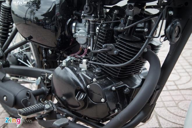 Moto co dien Kawasaki W175 dau tien ve Viet Nam hinh anh 7