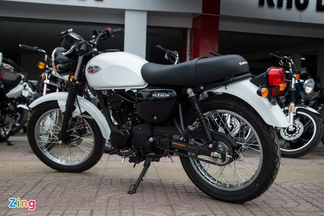 Moto co dien Kawasaki W175 dau tien ve Viet Nam hinh anh 8
