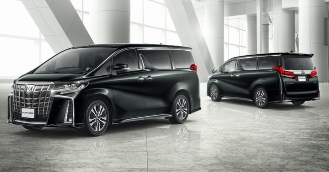 Toyota Alphard 2018 nang cap dong co, them cong nghe an toan hinh anh 1