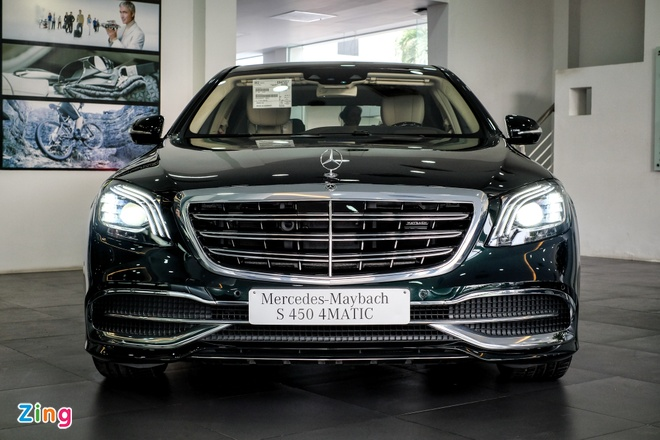 Mercedes-Benz S450 Maybach 2018 gia 7,219 ty dong tai VN hinh anh