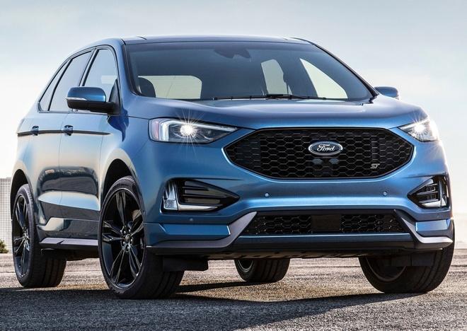 Ford Edge ST 2019 - crossover doi dau Hyundai SantaFe Sport hinh anh 1