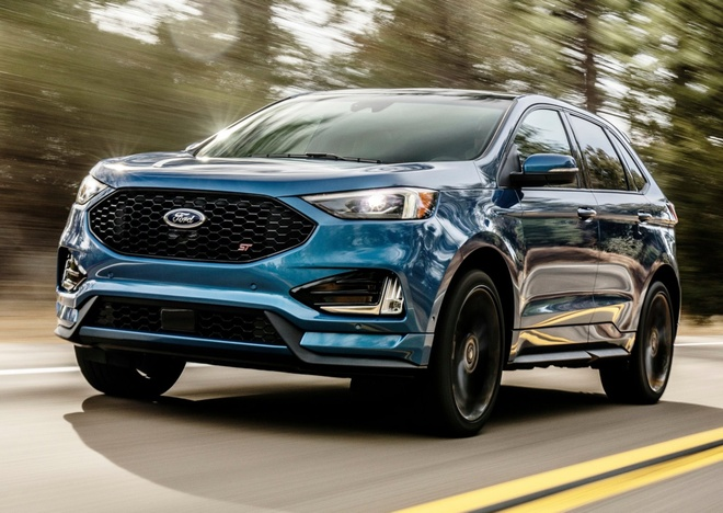 Ford Edge ST 2019 - crossover doi dau Hyundai SantaFe Sport hinh anh 2