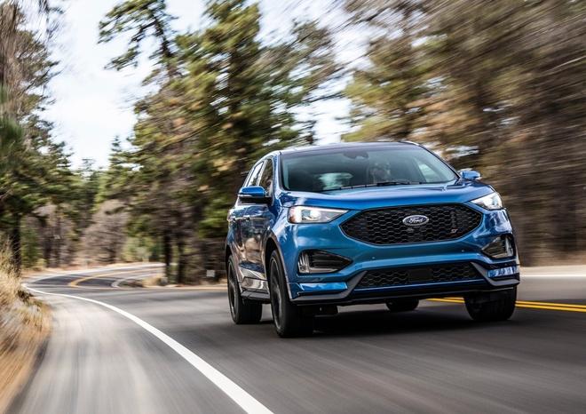 Ford Edge ST 2019 - crossover doi dau Hyundai SantaFe Sport hinh anh 3