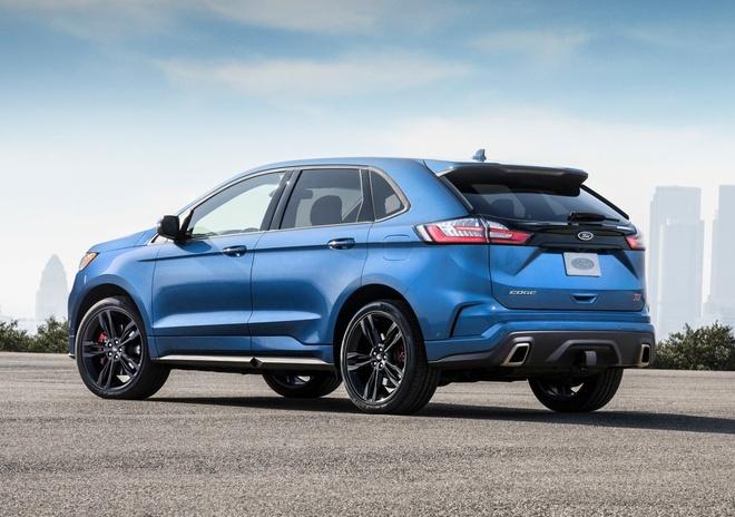 Ford Edge ST 2019 - crossover doi dau Hyundai SantaFe Sport hinh anh 4