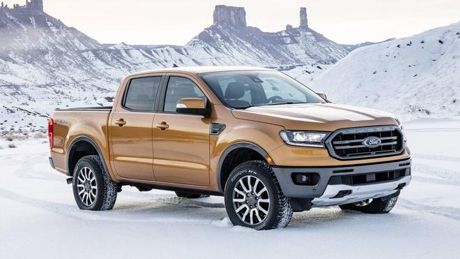 Ford Ranger 2019 ra mat, dong co EcoBoost, hop so tu dong 10 cap hinh anh 1