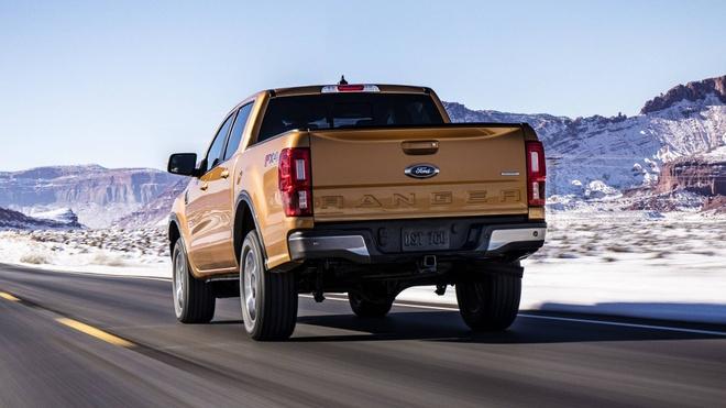 Ford Ranger 2019 ra mat, dong co EcoBoost, hop so tu dong 10 cap hinh anh 5