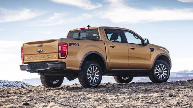 Ford Ranger 2019 ra mat, dong co EcoBoost, hop so tu dong 10 cap hinh anh 4