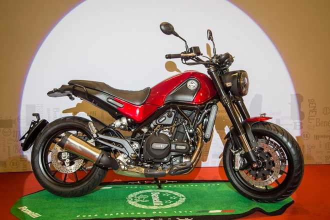 Benelli Leoncino tham vong ban 40-50 xe/thang tai Viet Nam hinh anh