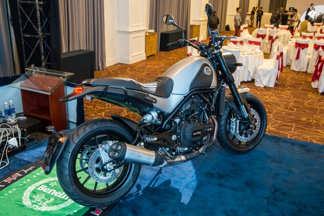 Benelli Leoncino tham vong ban 40-50 xe/thang tai Viet Nam hinh anh 2