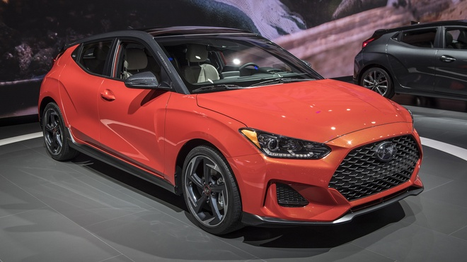 Hyundai Veloster 2019 - hatchback the thao cho nguoi tre giau co hinh anh