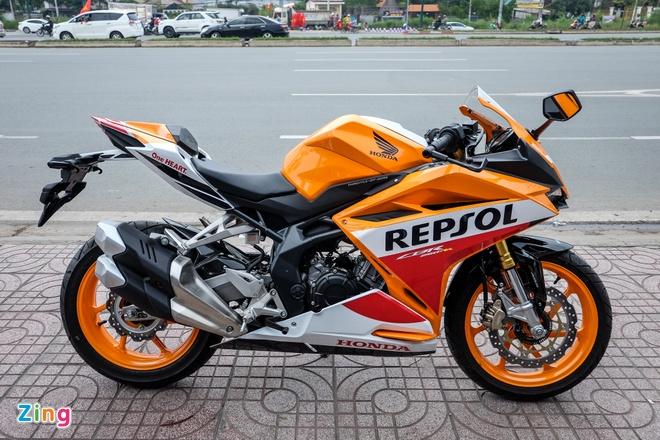 Honda CBR250RR Repsol dau tien cap ben Viet Nam hinh anh