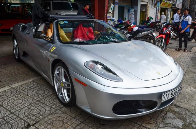 Ferrari F430 Spider - sieu xe dinh dam mot thoi xuat hien tren pho hinh anh 1