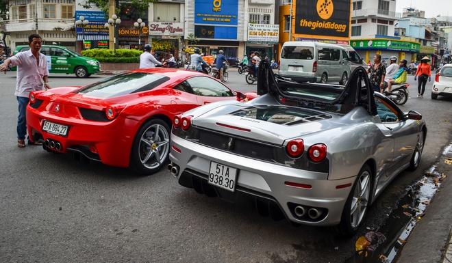 Ferrari F430 Spider - sieu xe dinh dam mot thoi xuat hien tren pho hinh anh 5