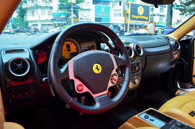 Ferrari F430 Spider - sieu xe dinh dam mot thoi xuat hien tren pho hinh anh 7