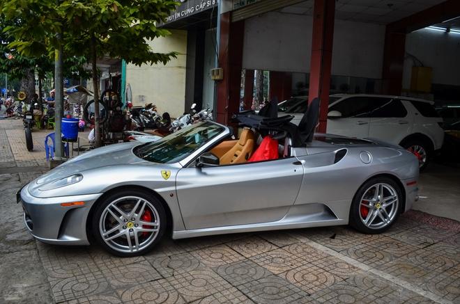 Ferrari F430 Spider - sieu xe dinh dam mot thoi xuat hien tren pho hinh anh 3