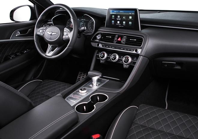 Genesis G70: Doi thu Mercedes C-Class xuat hien tai Viet Nam hinh anh 2