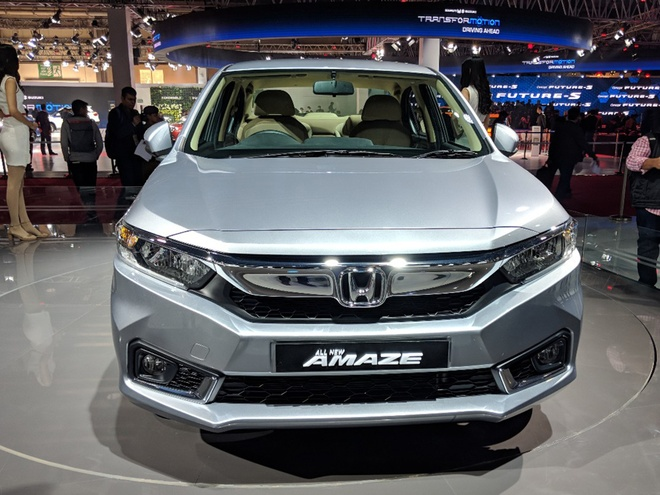 Honda Amaze - doi thu Hyundai Grand i10 sedan hinh anh
