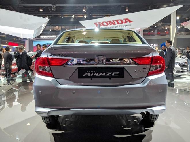 Honda Amaze - doi thu Hyundai Grand i10 sedan hinh anh 5